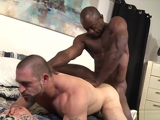 blowjob Prime Aged Muscle big cock