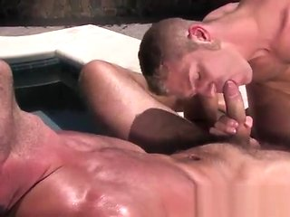 gay Adam Gets A Hot Blowjob From A Gay Hunk blowjob