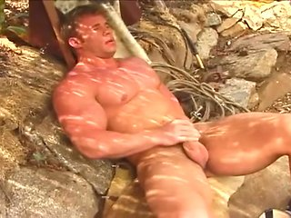 masturbation Mark Dalton - Open-air Solo gay