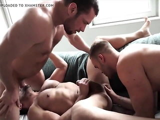 hunk (gay) group sex (gay)