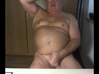 masturbation (gay) grandpa stroke exceeding webcam handjob (gay)