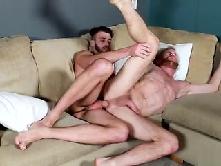 gay Taking turn in sucking a handful of anothers learn of blowjob