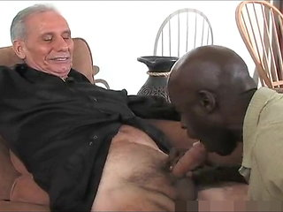 blowjob (gay) Matured Sinister Paterfamilias Together with Three White Grandpa's, One Good Time bareback (gay)